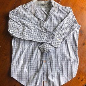 Men's Thomas Dean Long Sleeve Button Up - XL